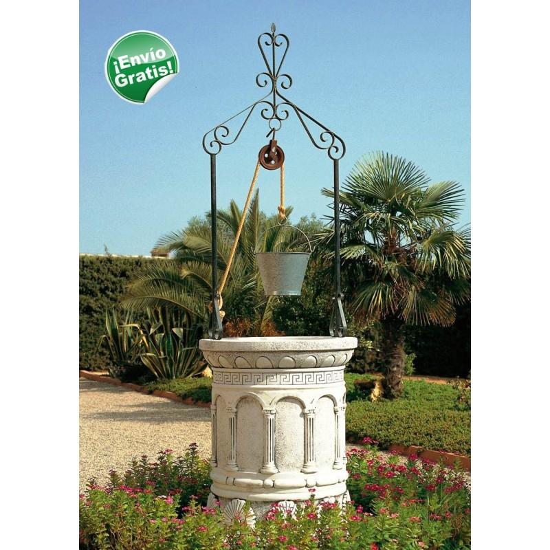 Pozos decorativos de jard n tienda online balaustres for Jardin online
