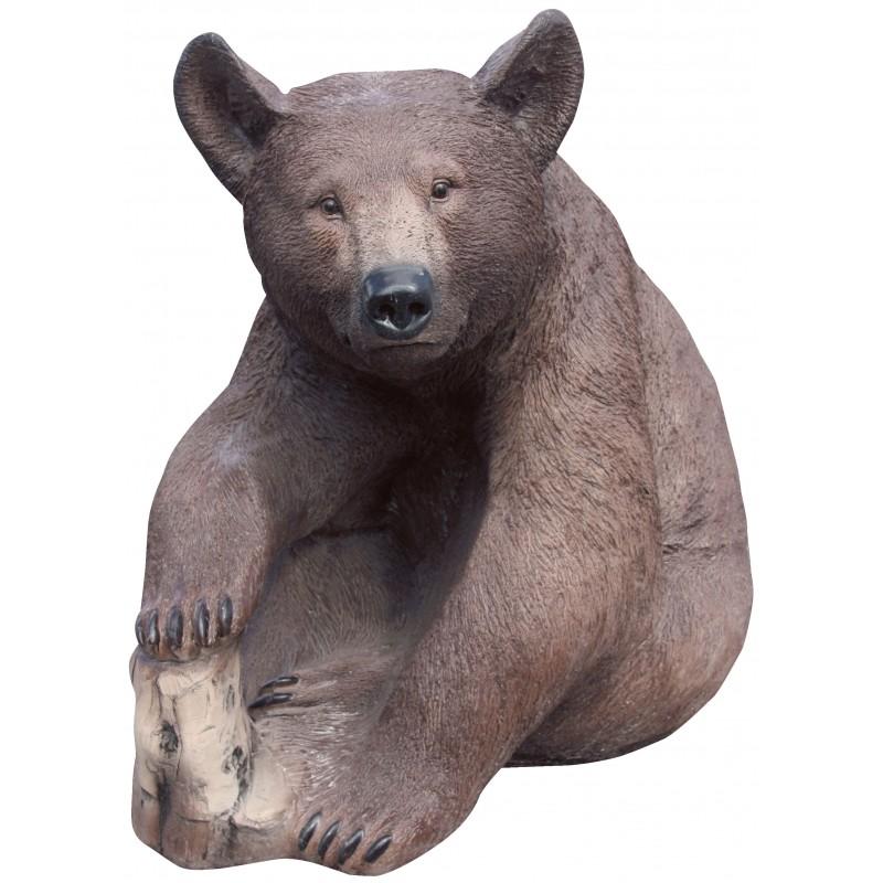 Figura de oso para jardín