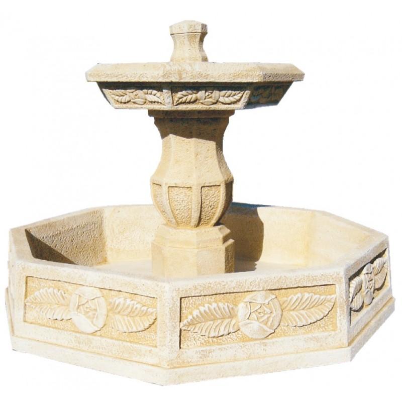 Limpieza de estanque o fuente de jardin piedra - Jardin fuente de piedra ...