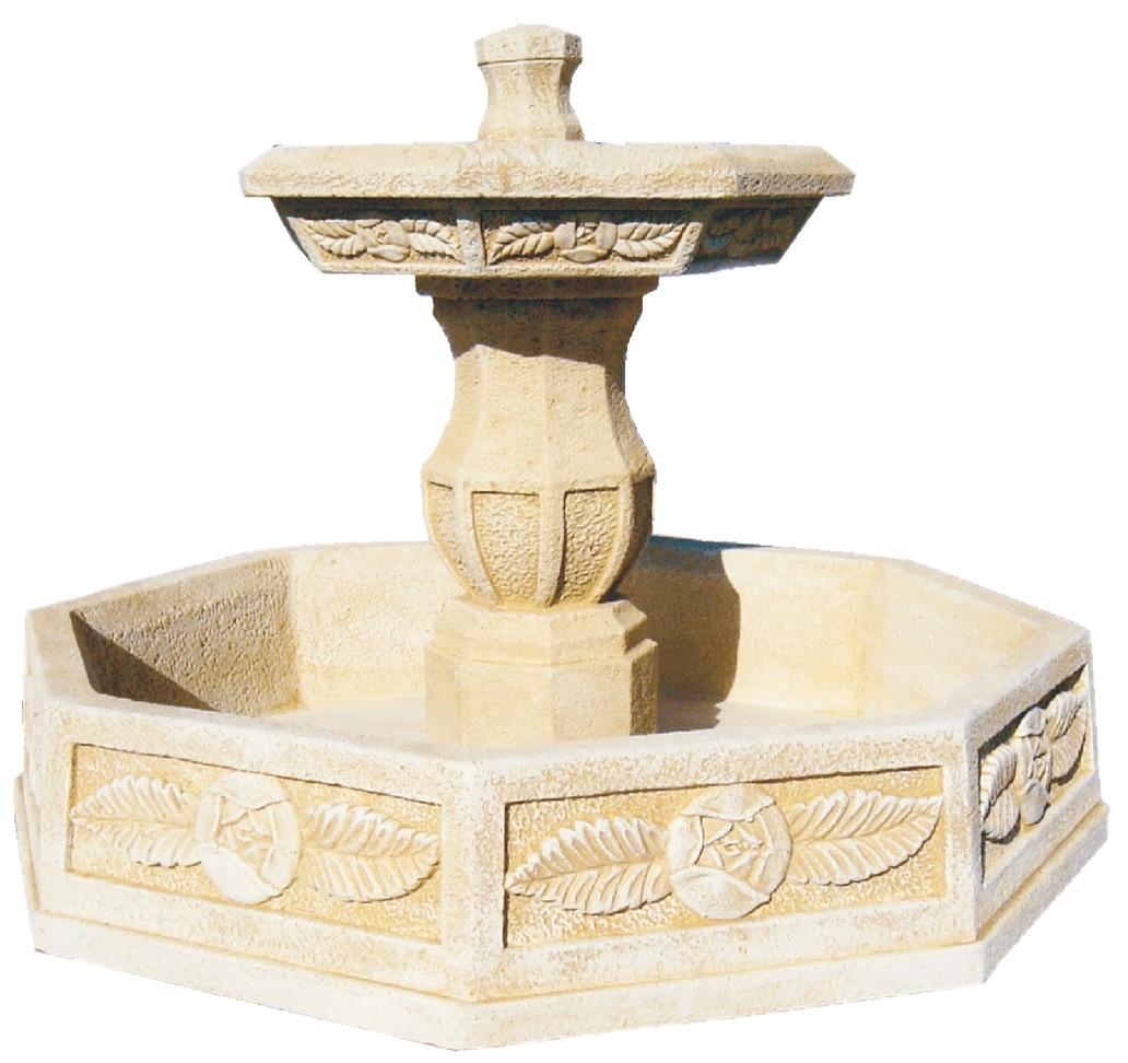 Fuente de jardin con estanque atenea - Fuentes decorativas para jardin ...