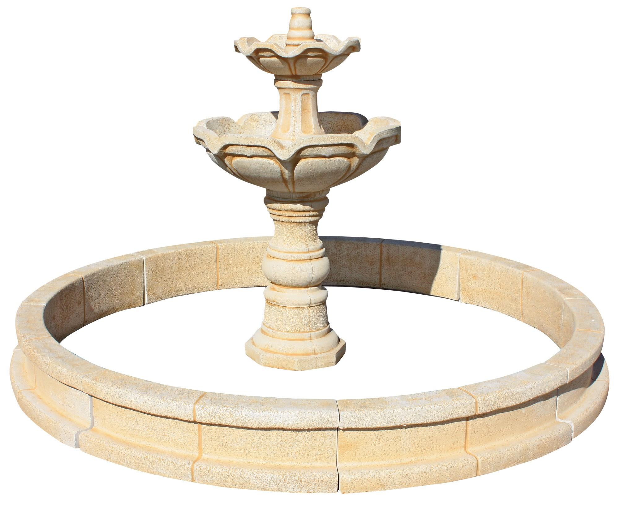 Compra tu fuente de jardin gran treveri por s lo 417 52 - Fuentes de piedra artificial ...