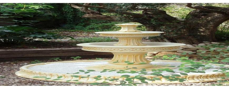 Fuentes de jardín de piedra artificial