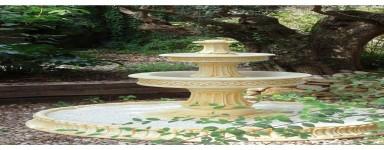 Fuentes de Jardín de Piedra Artificial - Balaustres Martínez