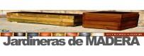 Jardineras de madera. El mejor precio en España