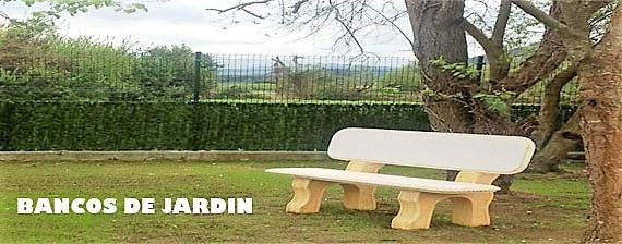 BANCOS PARA JARDIN