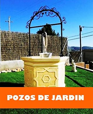 POZOS DE JARDIN